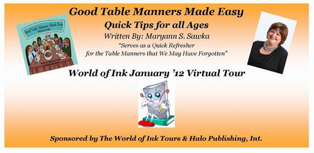 Good Table Manners WOI Banner